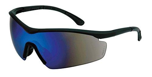 MaxPower 336716 Safety Sunglasses Black Frame with Blue Revo - Sunglasses Revo Amazon