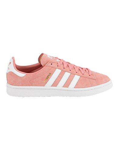 (adidas Originals Women's Campus Sneaker, Tactile Rose Crystal White, 7.5 M US)