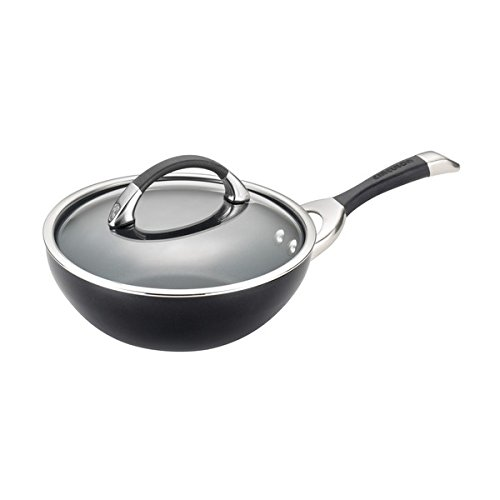 Circulon Symmetry Hard Anodized Nonstick 9-1/2-Inch Covered Stir Fry, Black by Circulon (Circulon Symmetry Stir Fry compare prices)