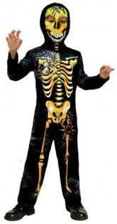 Disfraz Esqueleto Horripilante para niño(4-6 años): Amazon.es ...