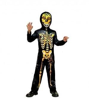 Disfraz Esqueleto Horripilante para niño(10-12 años): Amazon.es ...