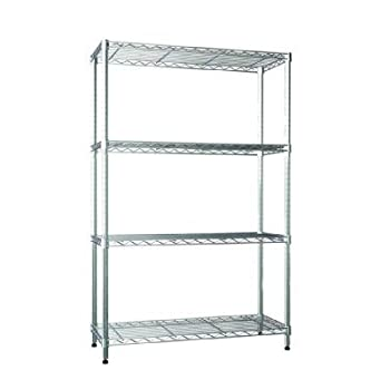 PERFECT HOME 36 in. W x 54 in. H x 14 in. D Steel Commercial Shelving Unit