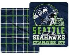 The Northwest Company Seattle Seahawks Oversized 50x60 Double Sided Throw Blanket