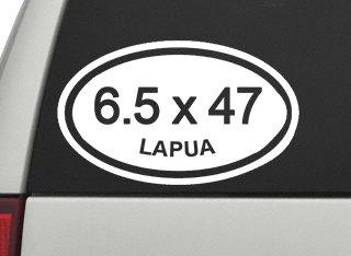 (6.5 x 47 Lapua Rifle Caliber Sticker - 5
