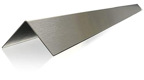 "(Stainless Steel Corner Guard, Wall Trim, Backsplash Accessories, Multiple Sizes Available- 72"" Long (Outside Corner))"