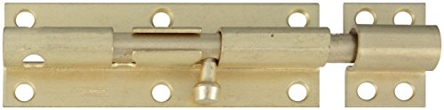 - Stanley Hardware S763-790 CD1084 Heavy Barrel Bolt in Satin Brass Tone