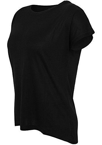 Urban Classics - Camiseta - Sin mangas - para mujer negro