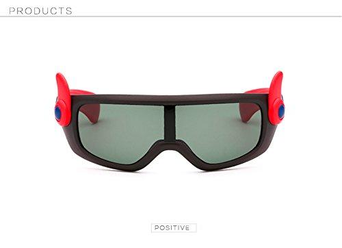 Beb¨¦ Flexibles Sol o Negro Ni os Dise Ni Sol o Pynxn os de de polarizadas Naranja Gafas Gafas Gafas Ni Sol de AT1085 Animados los Nuevos Rojo a de Dibujos Ni de Z8BIqU