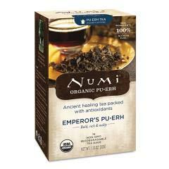 Organic Teas And Teasans, 0.125oz, Emperor's Puerh, 16/box ()