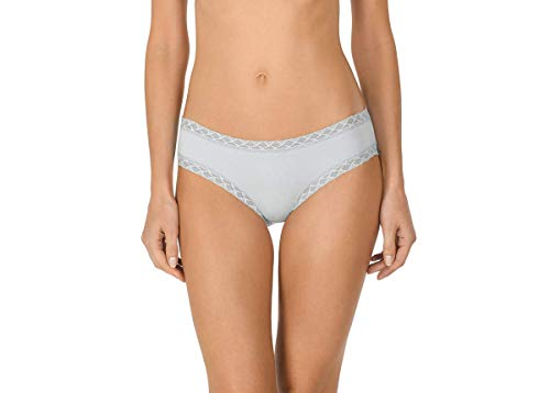 Women's Bliss Cotton Girl Brief Panty (Sky, S) (Pima Cotton Brief)