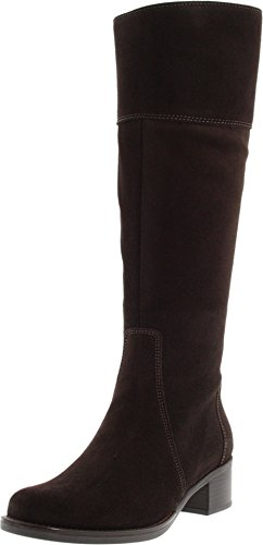 Image of the La Canadienne Women's Passion Espresso Suede Boot 6.5 W (D)