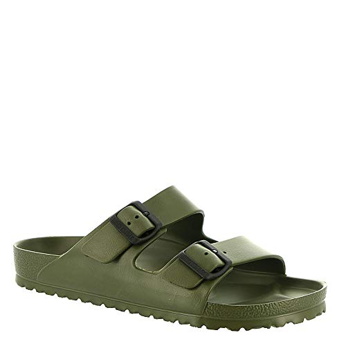Birkenstock Unisex Arizona Essentials EVA Khaki Sandals - 46 M EU - Khaki Mens Sandals