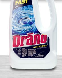 Drano 000116EA Liquid Drain Cleaner, 32oz Safety Cap ()