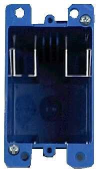 Carlon Lamson & Sessons B120R 20 Cubic Inch Single Gang Old Work Box