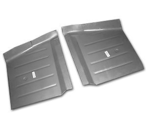1962-65 Ford Fairlane and 1962-63 Mercury Meteor Front Floor Pans (Pair)