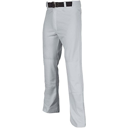 Champro Youth MVP Open Bottom Relaxed Fit Baseball Pant, Grey, X-Large
