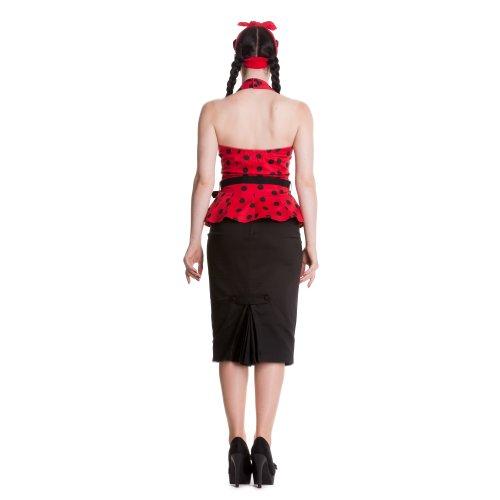 Infierno conejito Top Adelaide principal accionista - Colour rojo Rojo