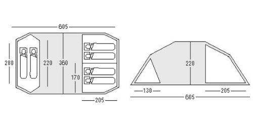 sc 1 st  Amazon UK & Sunncamp Shadow 600 DL Tent: Amazon.co.uk: Sports u0026 Outdoors