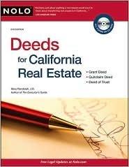 Deeds for California Real Estate 8th (egith) edition Text Only (Deeds For California Real Estate By Mary Randolph)
