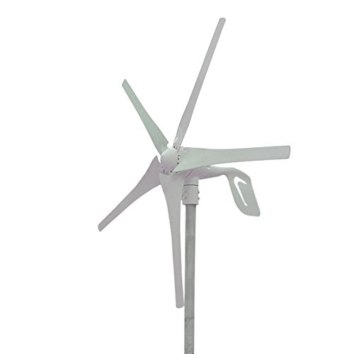 HUKOER HUKOER Wind Turbine Generator & Waterproof Wind Controller 12V 400W 5 Blades Low Wind Speed Starting Top Rated NSK Bearings Garden Street Lights Wind Turbines (24V) price tips cheap