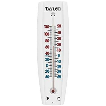 Amazon.com: Taylor Precision 5154 Wall Thermometer: Home & Kitchen