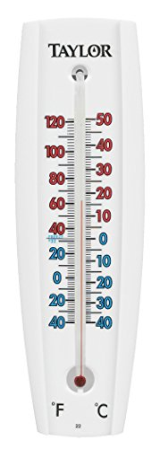 Aluminum Thermometer (Taylor Precision 5154 Wall Thermometer)