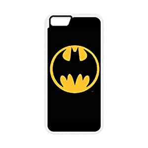 Batman Logo iPhone 6 Plus 5.5 Inch Cell Phone Case White Exquisite gift (SA_638039)