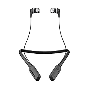 Skullcandy Ink'd Bluetooth Wireless Earbuds with Mic, Black (S2IKW-J509)