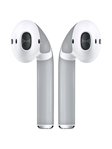 AirPod Skins Protective Wraps - Stylish Covers for Protection & Customization, Compatible with Apple AirPods (Grey)