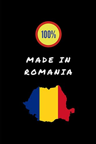 100% Made In Romania: Customised Notepad