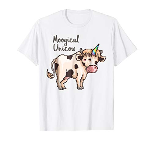 Unicorn Cow Cute Cowicorn Unicow T-Shirt Gifts