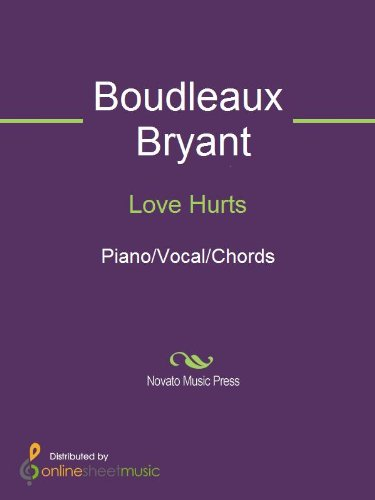 Love Hurts Kindle Edition By Boudleaux Bryant Nazareth Arts