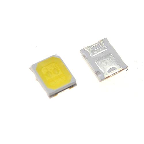 (Phoncoo 100PCS LG LED Backlight 1210 3528 2835 1W 100LM Cool White LCD Backlight for TV TV Application)