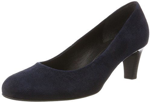 Gabor Damen Basic Pumps Blau (36 River)