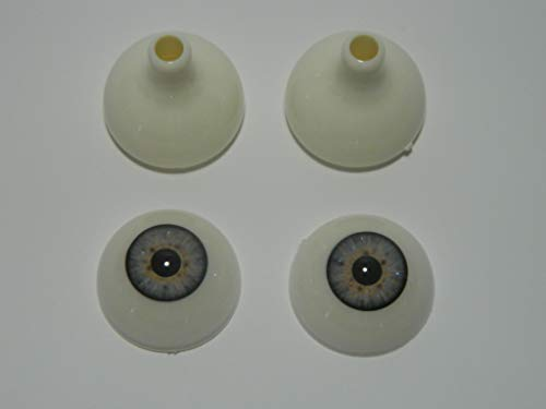 Pair of Realistic Acrylic Eyes for Halloween Props,