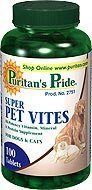 Super Pet Vites 100ct 3 Bottles