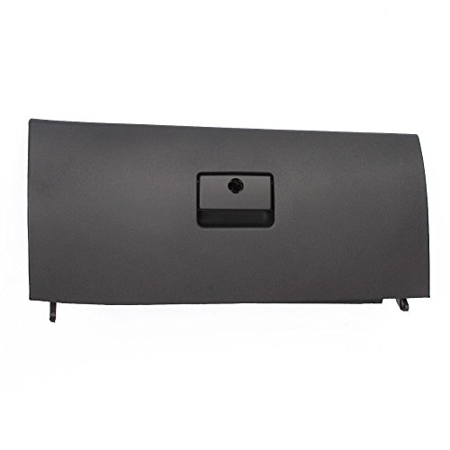 SP-Auto Black Car Console Glove Box Door Cover Lid Latch For VW Jetta A4 Golf4 MK4 1J1 857 ()