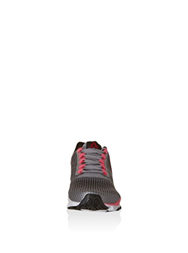 Reebok Hexaffect Storm Zapatillas de deporte, Mujer Gris / Rosa / Blanco / Negro (Steel/Flat Grey/Solar Pink/White/Black)