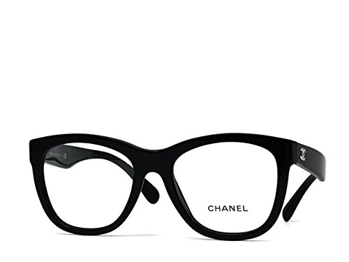 (シャネル) CHANEL ブラックメガネフレーム 眼鏡 0CH-3360-C501 [並行輸入品] B076DPNDDZ