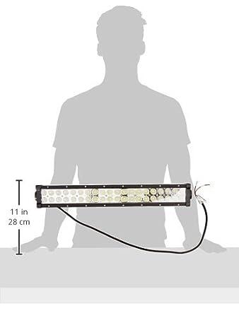 amazon com tuff stuff led light bar 20 ec series 120 watt 5 040 rh amazon com LED Lights 120V LED Wiring Diagram