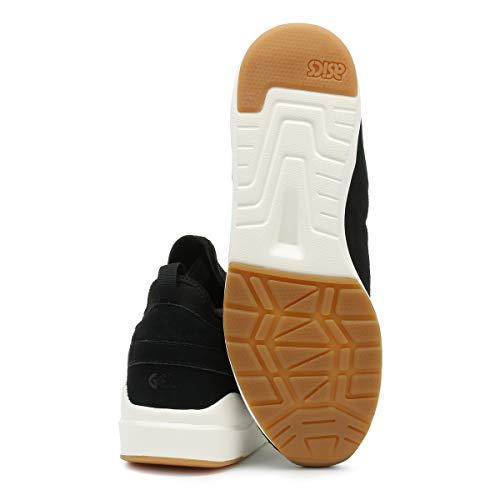 Komachi Lyte Strap Zapatillas ASICS Ante Mujer Gel Negro qE5x5gwtz