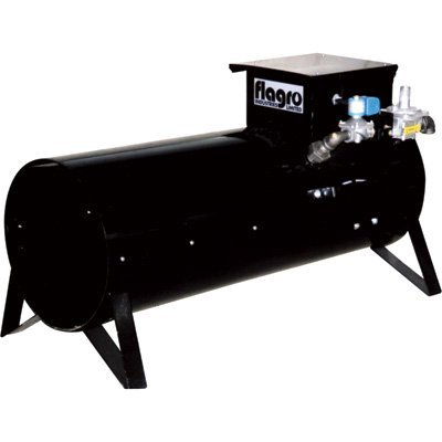 (Flagro USA Dual Fuel Construction Heater - 400,000 BTU, Model# F-400T)