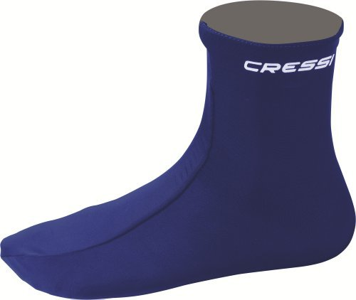 Cressi Watersports Lycra Skin 1mm Soft Socks by Cressi by Cressi