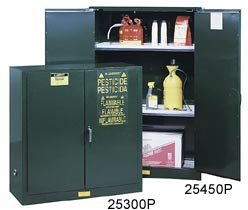 Cabinet, Pesticide, Green, 45 Gallon (Pesticide Green Safety Cabinets)