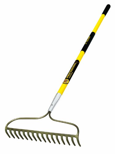 Truper-31380-Tru-Pro-60-Inch-16-Teeth-Forged-Bow-Rake-Fiberglass-Handle-10-Inch-Grip