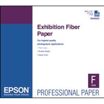 Epson PAPER, EXHIBITION FIBER PAPER, 8.5X