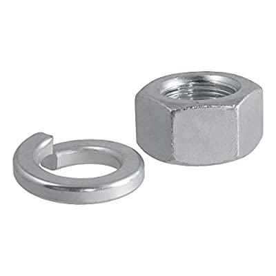 CURT 40105 Replacement Trailer Hitch Ball Nut and Washer for 1-1/4-Inch Trailer Ball Shank: Automotive