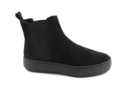 Beatles Frau Donna Nero Alto Collo Sneaker A 61r6w