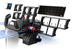 saitek pz70 pro flight multi panel accessoire pour jeu de. Black Bedroom Furniture Sets. Home Design Ideas