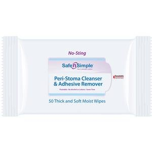 Safe N Simple Peri Stoma Adhesive Remover (Stoma Wipe)